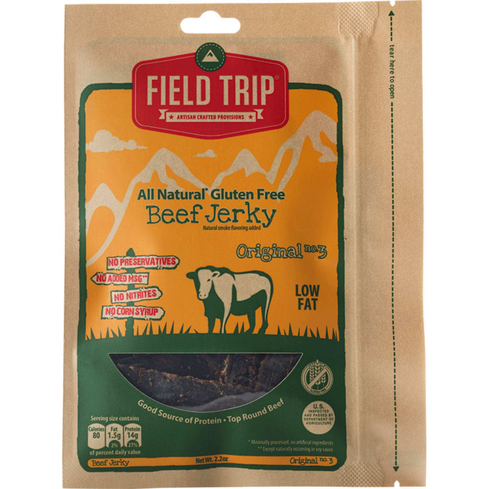 FIELD TRIP Original Beef Jerky - NO COLOR
