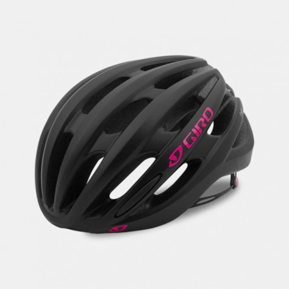 GIRO Women's Saga Cycling Helment - MATTE BLACK/PINK
