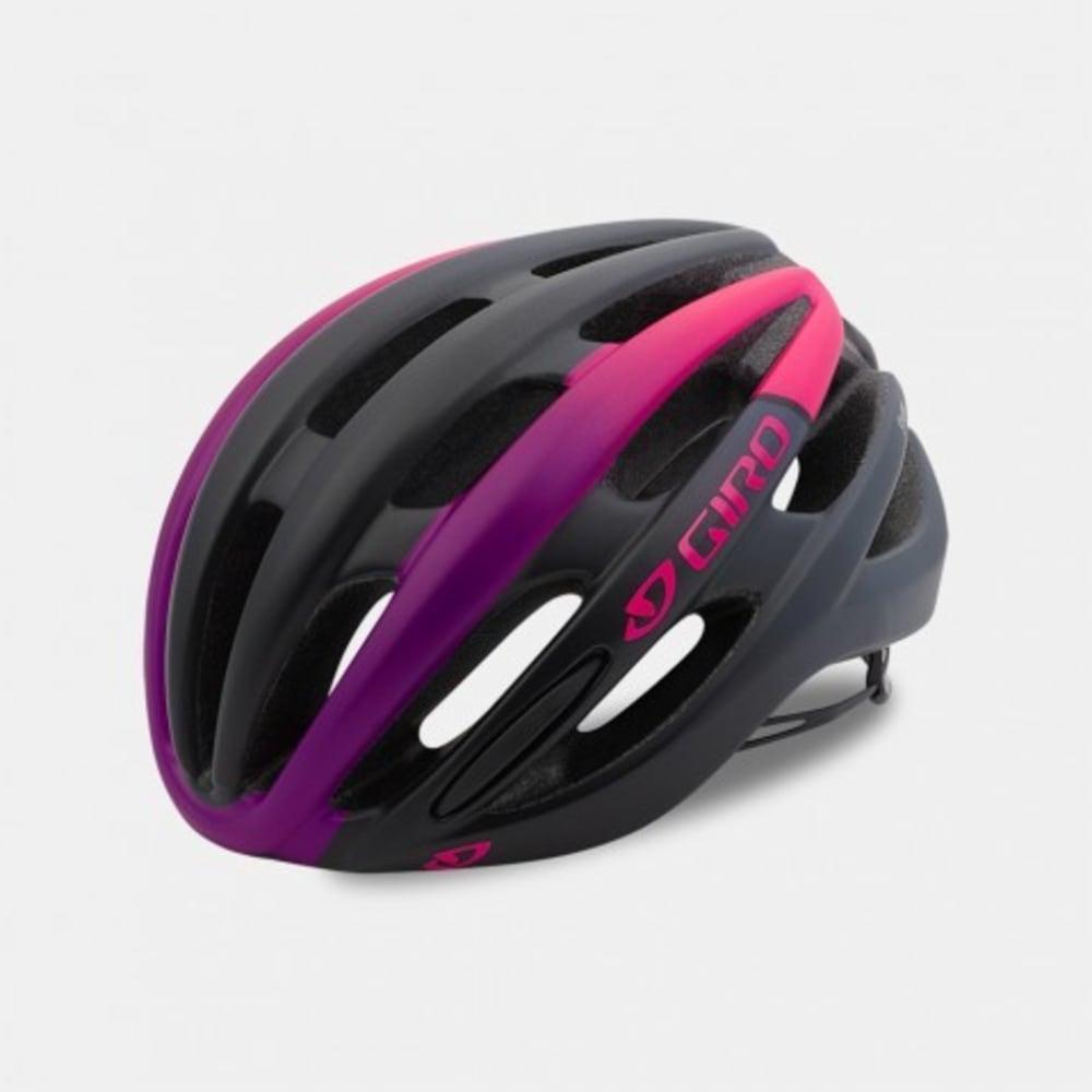 GIRO Women's Saga Cycling Helment - MATTE PINK/BLACK