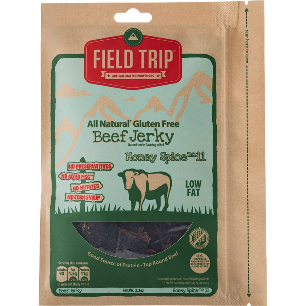 FIELD TRIP Sweet and Spicy Beef Jerky - NO COLOR