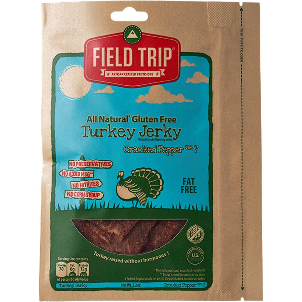 FIELD TRIP Cracked Pepper Turkey Jerky - NO COLOR