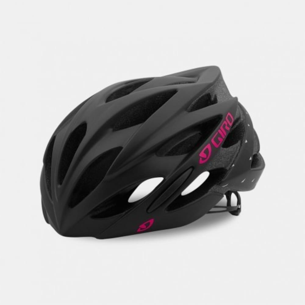 GIRO Women's Sonnet MIPS Cycling Helmet - MATTE BLACK/PINK