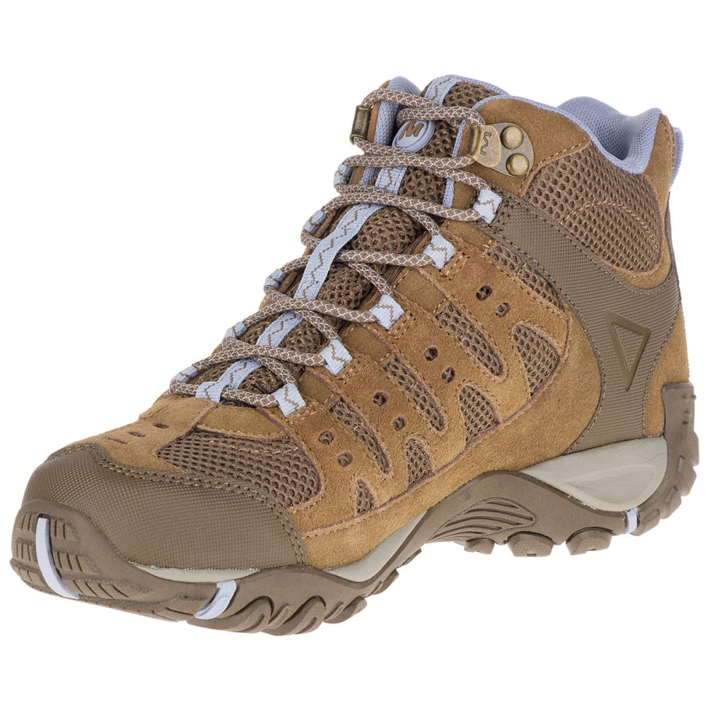 reputable site free delivery new lifestyle MERRELL Women's Accentor Mid Ventilator Waterproof Hiking Boots ...