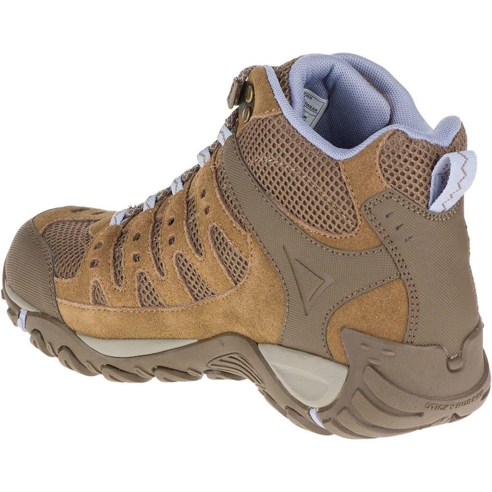 285d46eb15 MERRELL Women's Accentor Mid Ventilator Waterproof Hiking Boots,  Otter/Aleutian