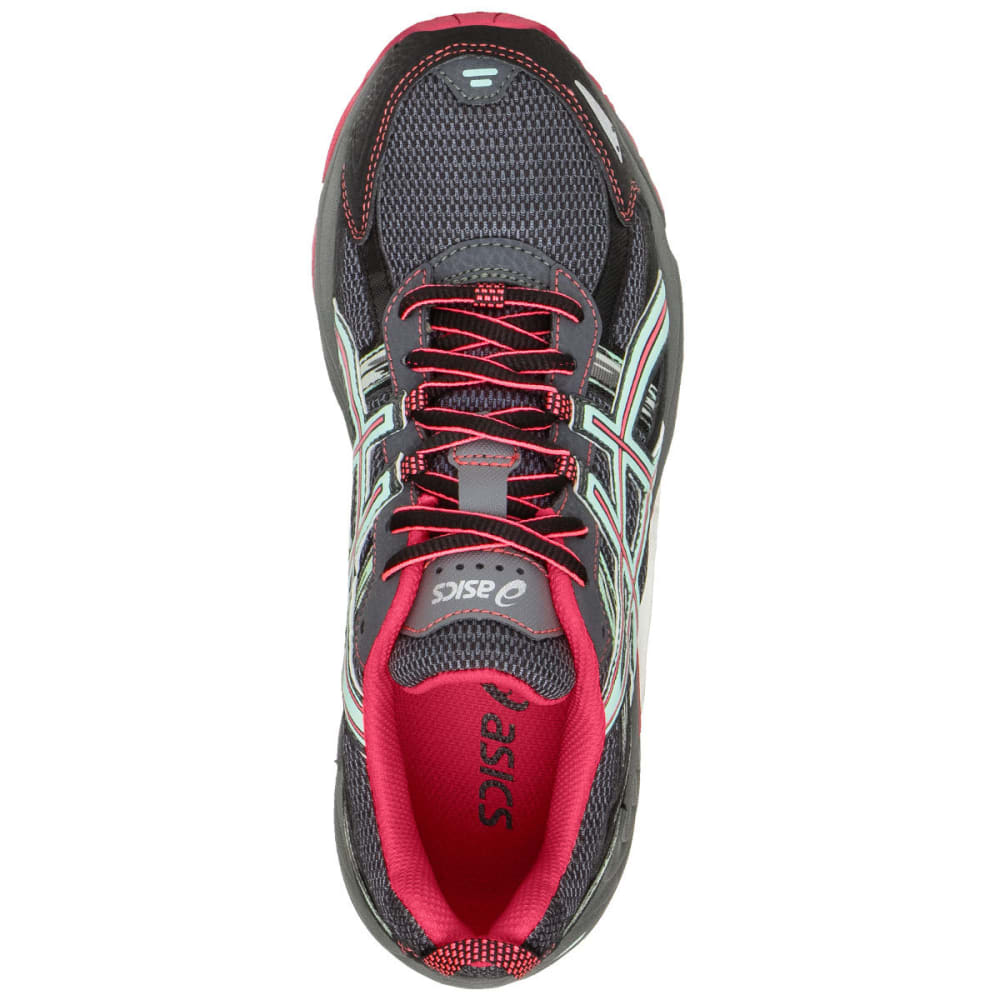 ASICS Women's GEL-Venture 5 Trail Running Shoes, Carbon, Wide - CHARCOAL