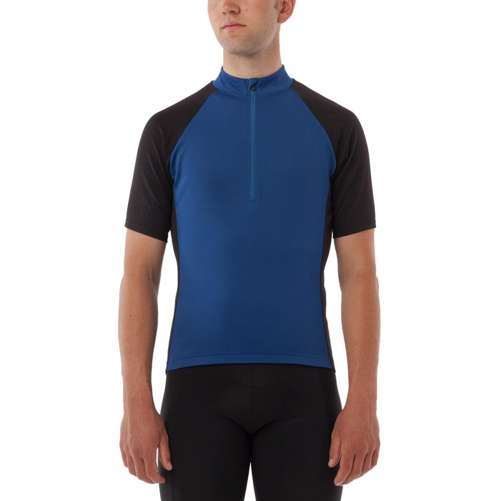 GIRO Men's Chrono Sport Half Zip Cycling Jersey - MONACO BLUE