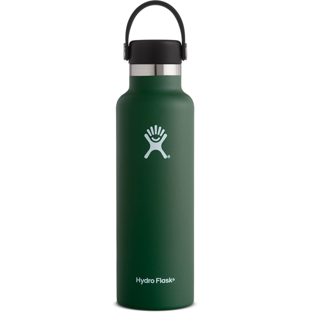 HYDRO FLASK 21 oz. Standard Mouth Water Bottle with Flex Cap - SAGE GREEN