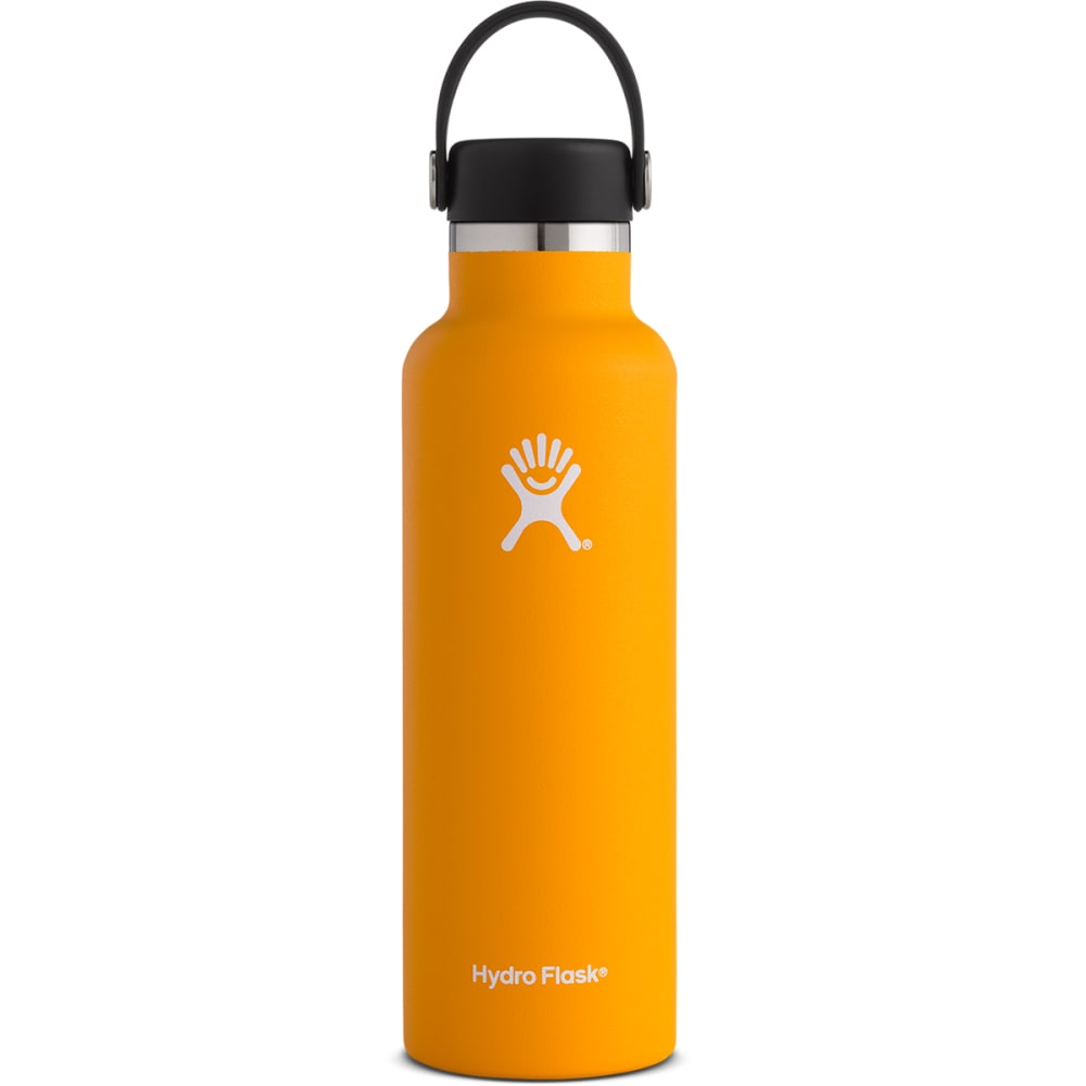 HYDRO FLASK 21 oz. Standard Mouth Water Bottle with Flex Cap - MANGO