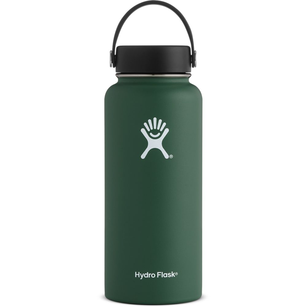 HYDRO FLASK 32 oz. Wide Mouth Water Bottle with Flex Cap - SAGE GREEN