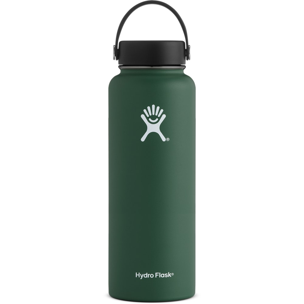 HYDRO FLASK 40 oz. Wide Mouth Water Bottle with Flex Cap - SAGE GREEN