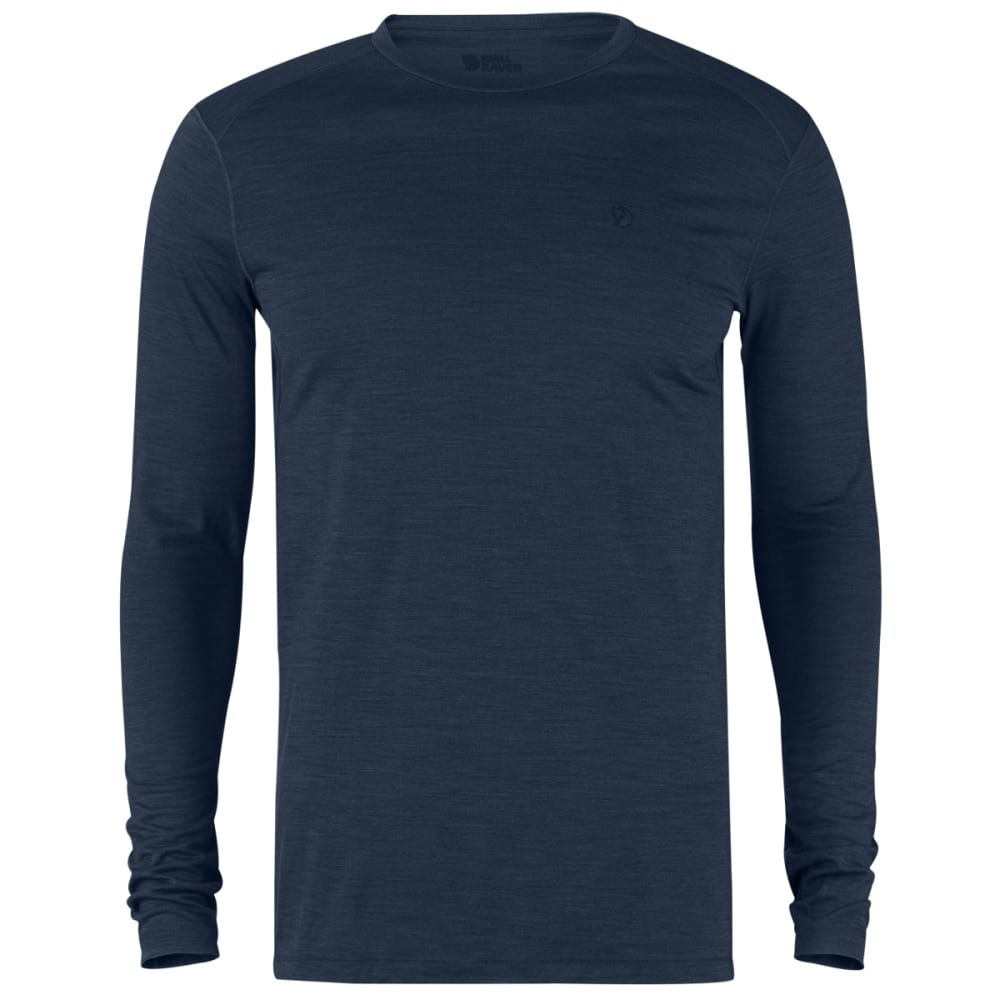 FJÄLLRÄVEN Men's High Coast First Layer Long-Sleeve Shirt - NAVY