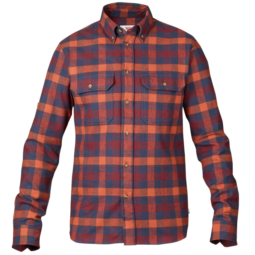 FJALLRAVEN Men's Skog Shirt - NAVY
