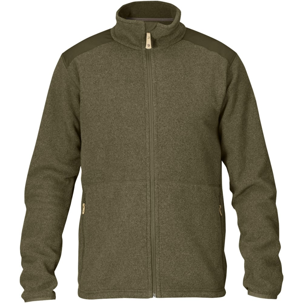 FJALLRAVEN Men's Sten Fleece - DARK OLIVE