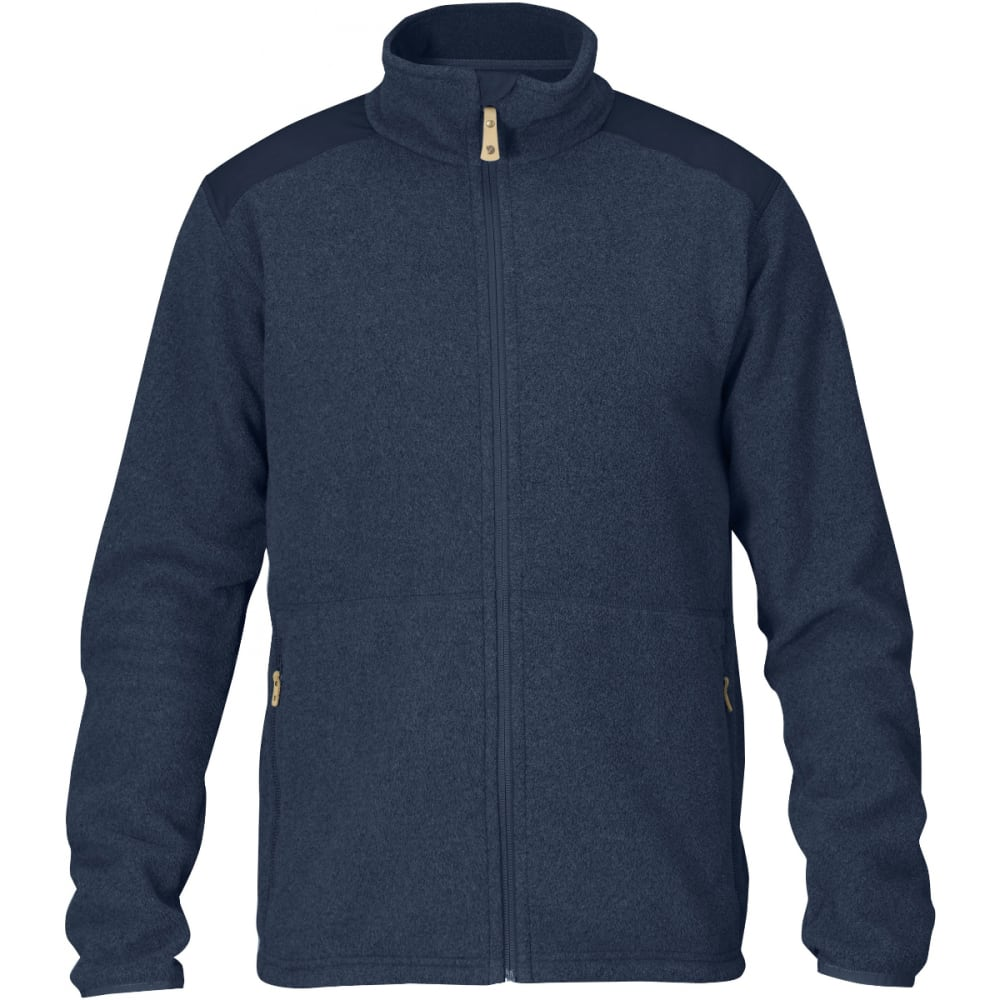 FJALLRAVEN Men's Sten Fleece - DARK NAVY