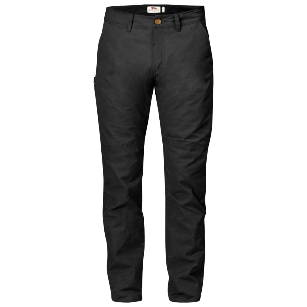 FJALLRAVEN Men's Sormland Tapered Trousers - DARK GREY