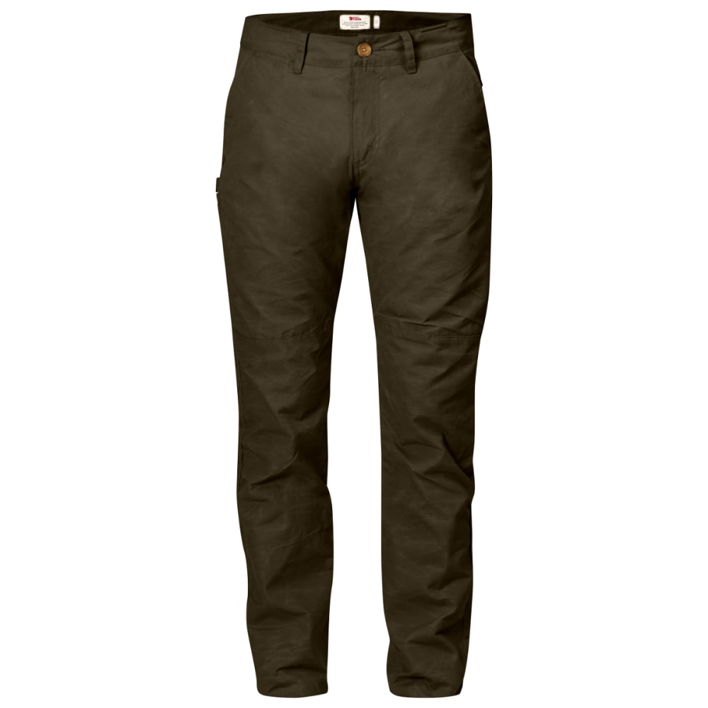 FJALLRAVEN Men's Sormland Tapered Trousers - DARK OLIVE