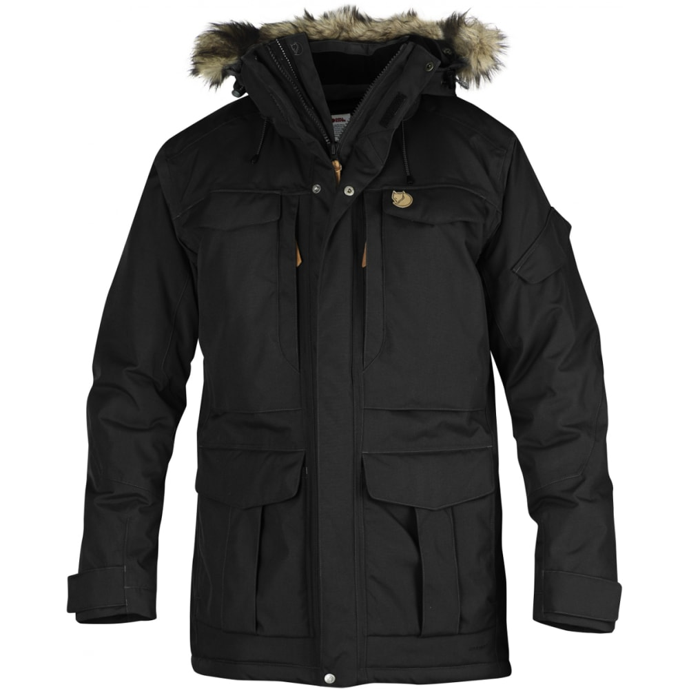 FJALLRAVEN Men's Yupik Parka - BLACK