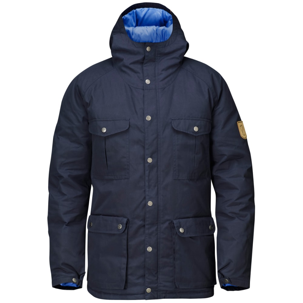 FJALLRAVEN Men's Greenland Down Jacket - DARK NAVY