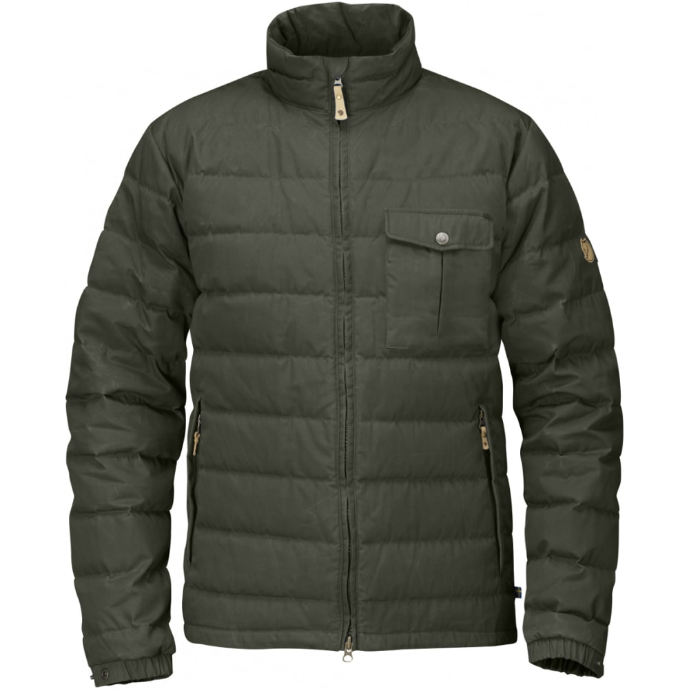 FJALLRAVEN Men's Övik Lite Jacket - MOUNTAIN GREY