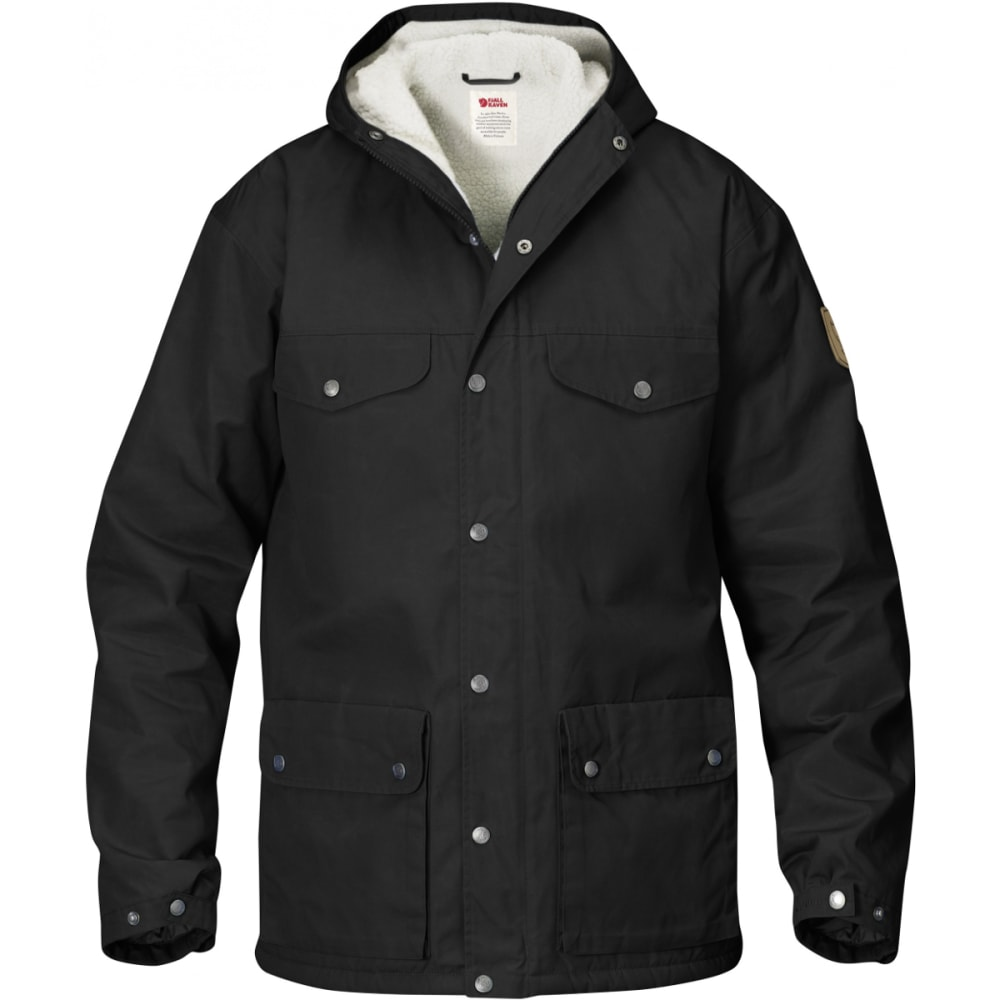 FJALLRAVEN Men's Greenland Winter Jacket - BLACK