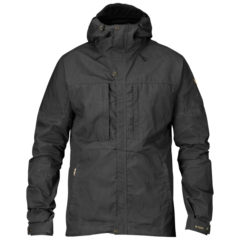 FJALLRAVEN Men's Skogsö Jacket - DARK GREY