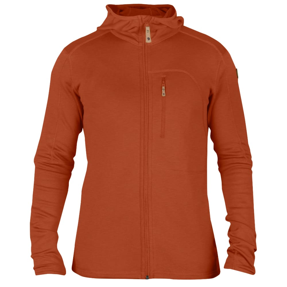FJALLRAVEN Men's Keb Fleece Jacket - AUTUMN LEAF
