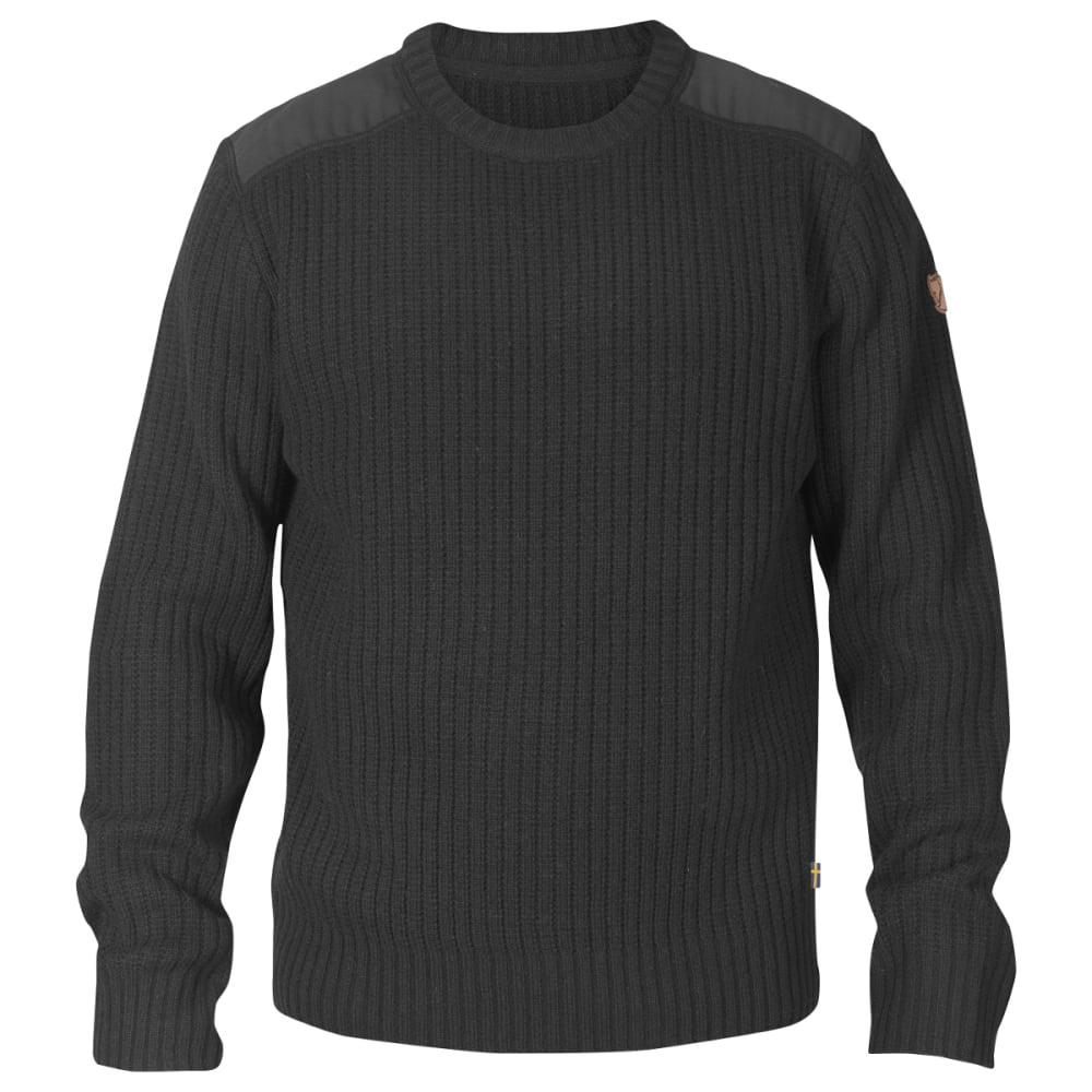 FJALLRAVEN Men's Singi Knit Sweater - DARK GREY