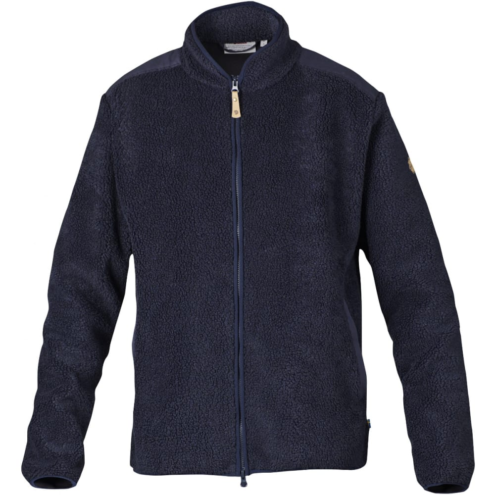 FJALLRAVEN Men's Singi Zip Sweater - DARK NAVY