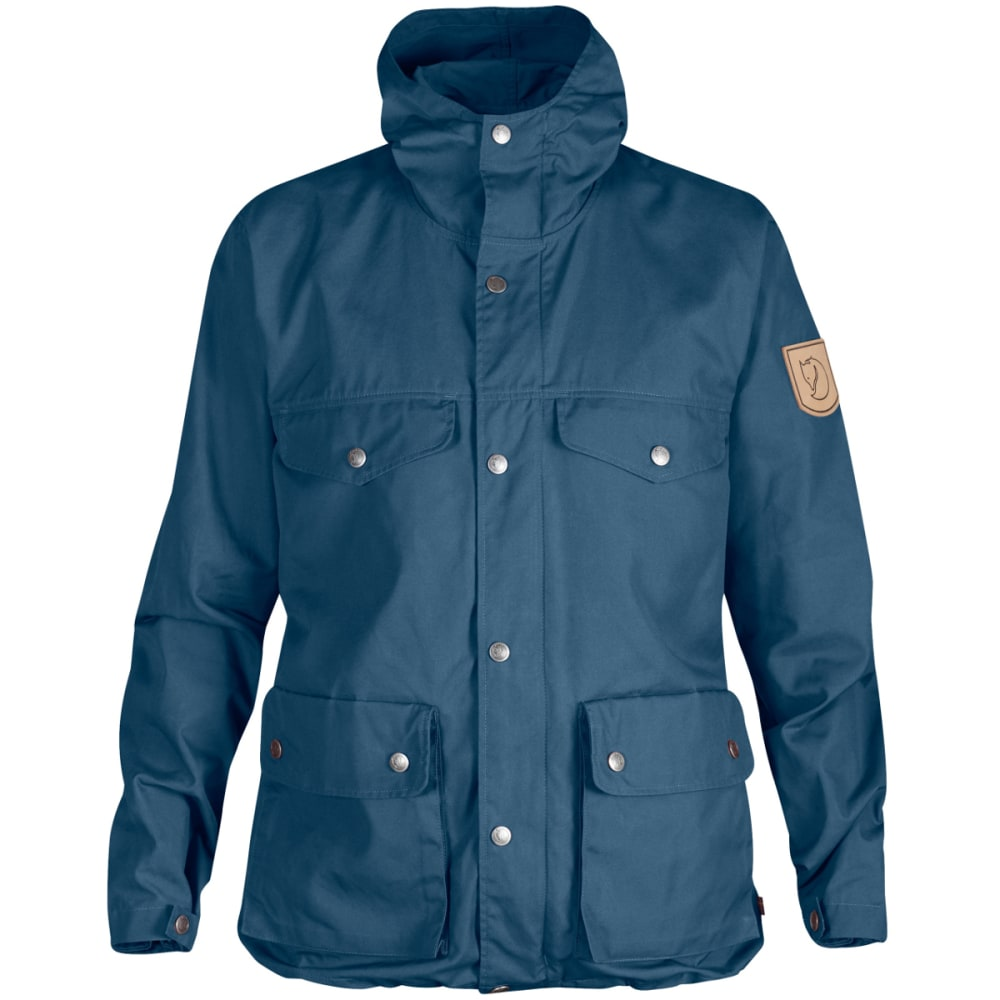 FJALLRAVEN Women's Greenland Jacket - UNCLE BLUE