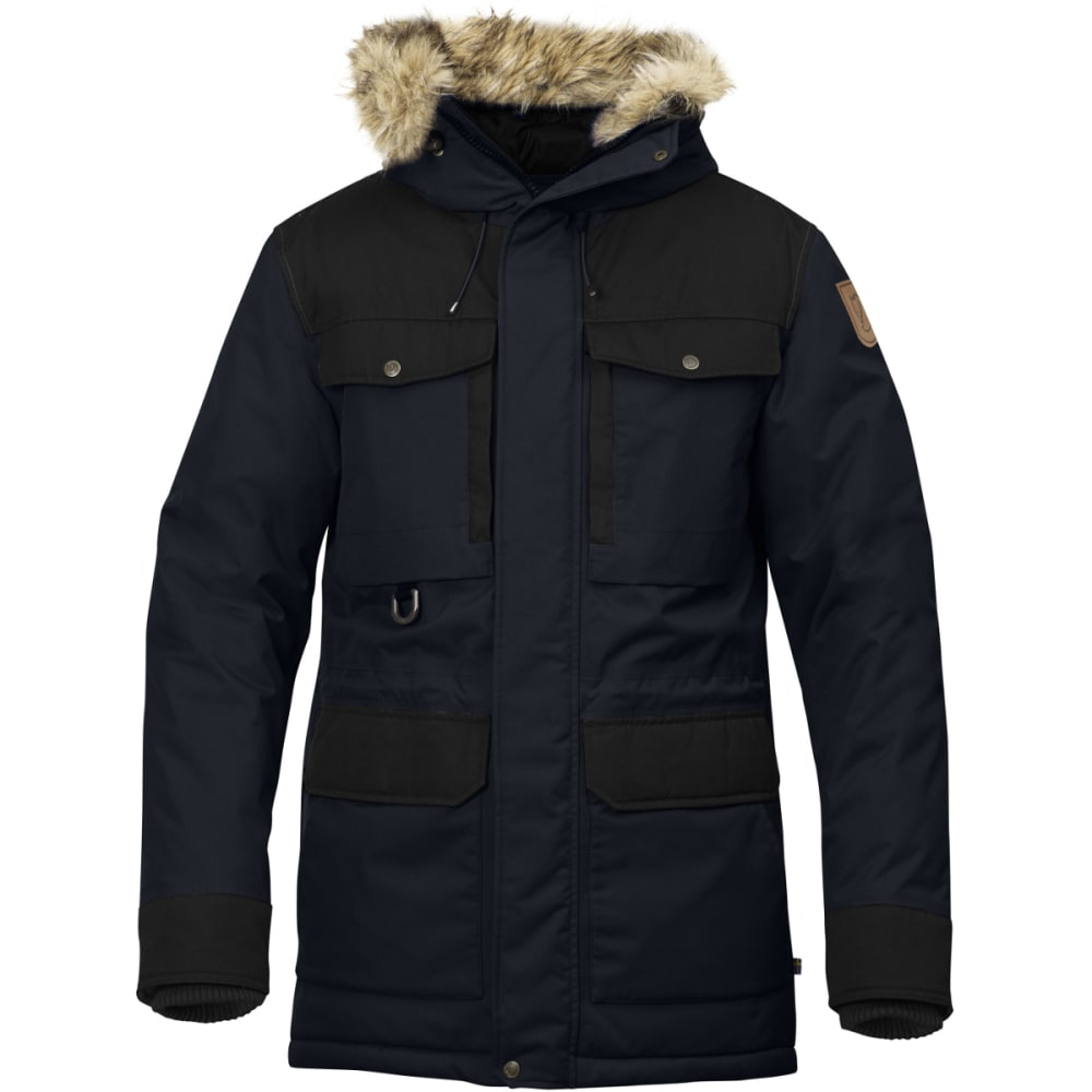 FJALLRAVEN Men's Polar Guide Parka - BLACK