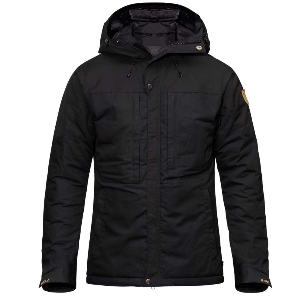 FJALLRAVEN Men's Skogsö Padded Jacket - BLACK