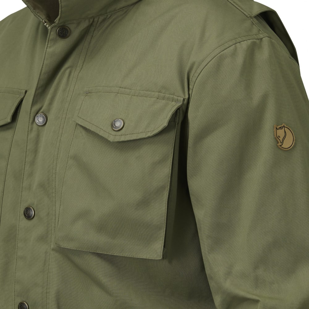 FJALLRAVEN Men's Raven Jacket - GREEN