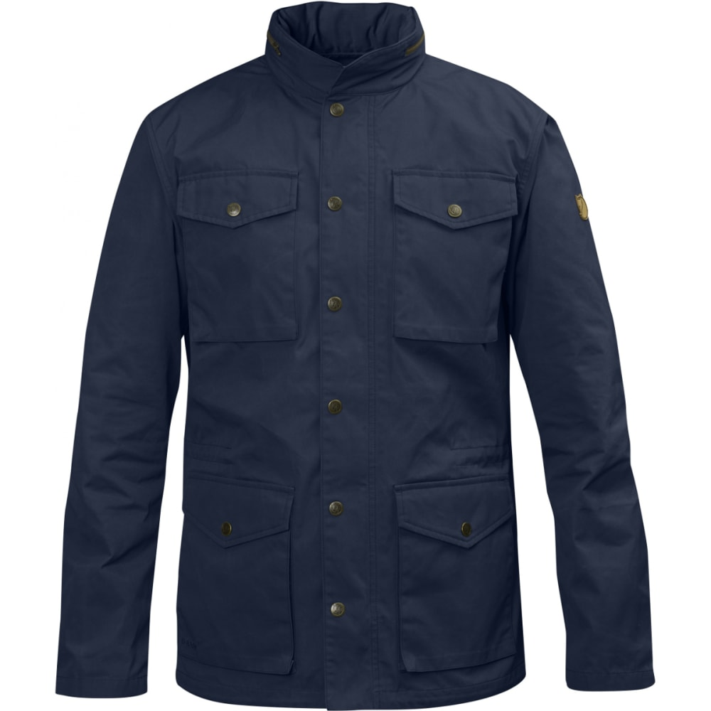 FJALLRAVEN Men's Räven Jacket - DARK NAVY