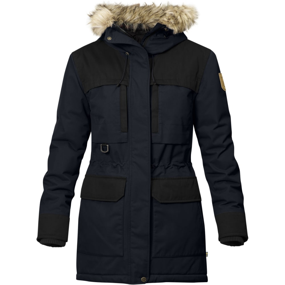FJALLRAVEN Women's Polar Guide Parka - BLACK