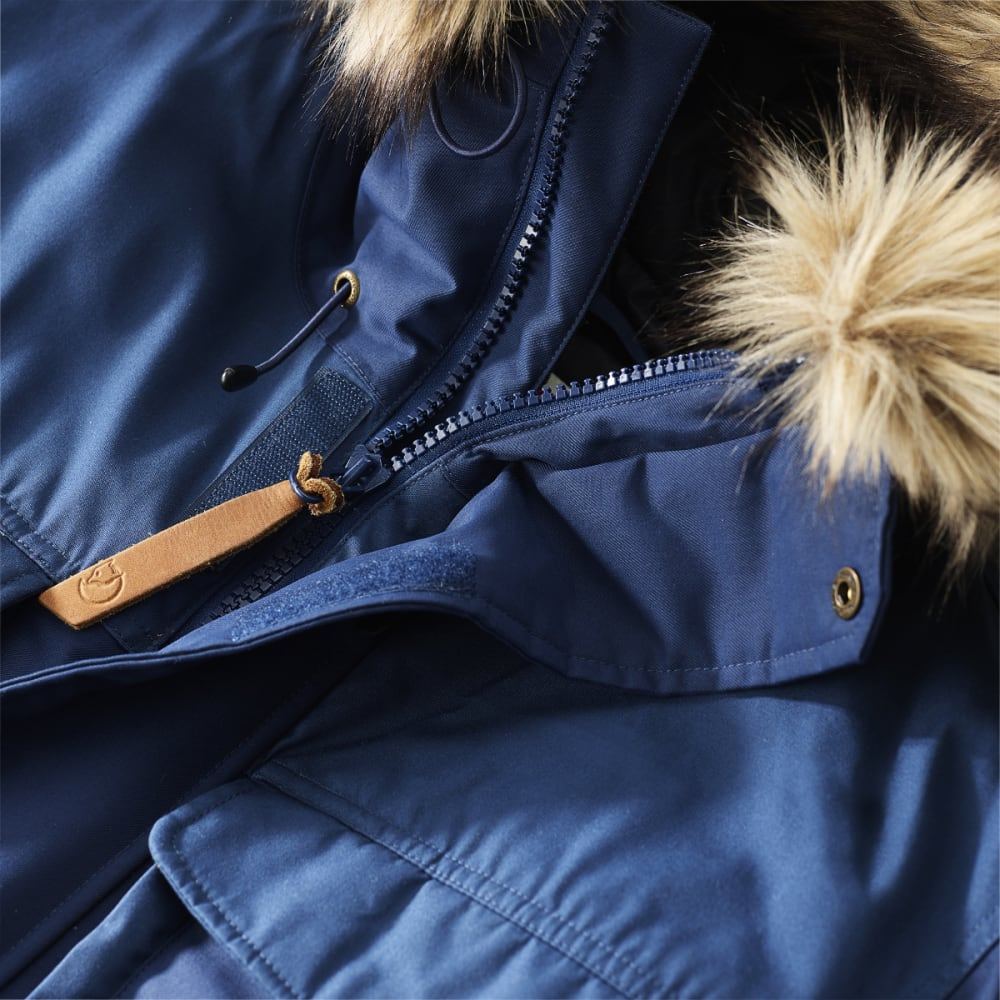 FJALLRAVEN Women's Polar Guide Parka - DARK NAVY