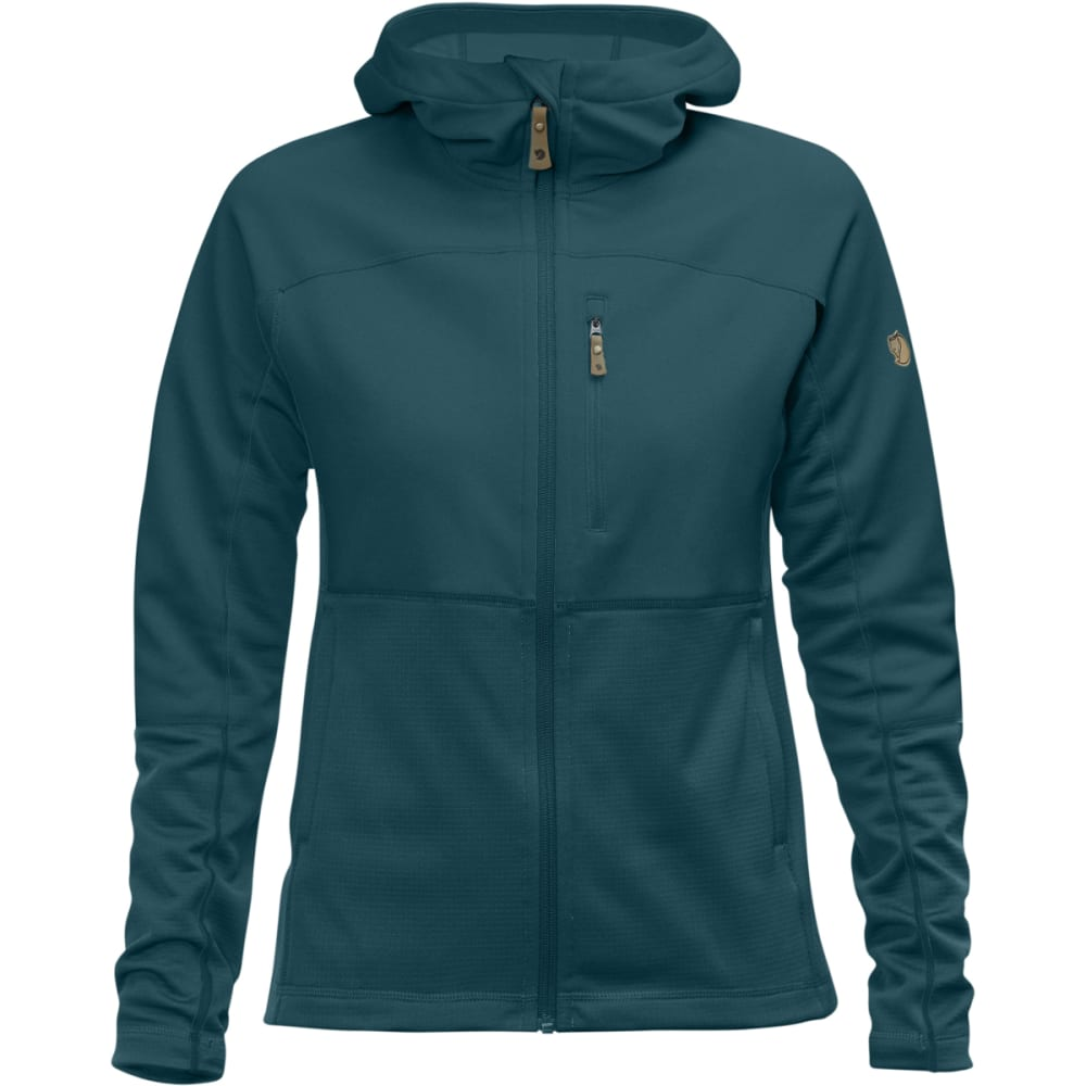FJALLRAVEN Women's Abisko Trail Fleece - GLACIER GREEN