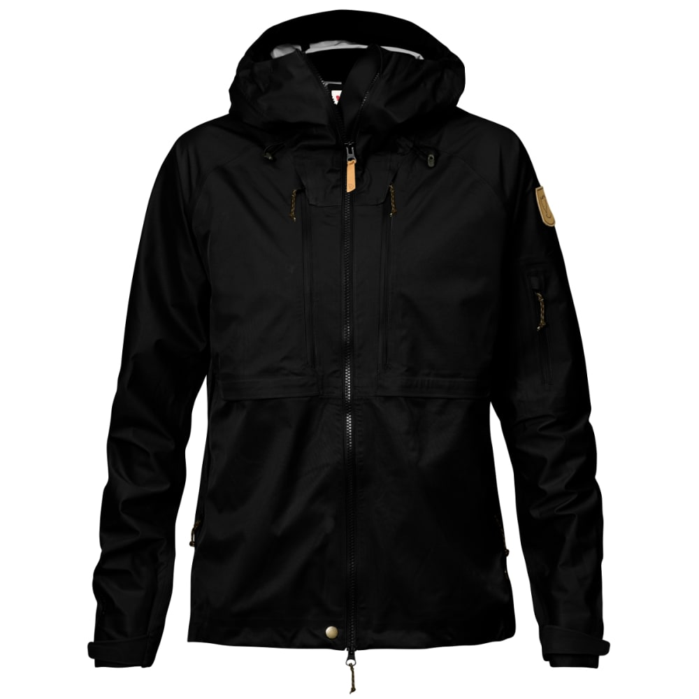FJALLRAVEN Women's Keb Eco-Shell Jacket - BLACK
