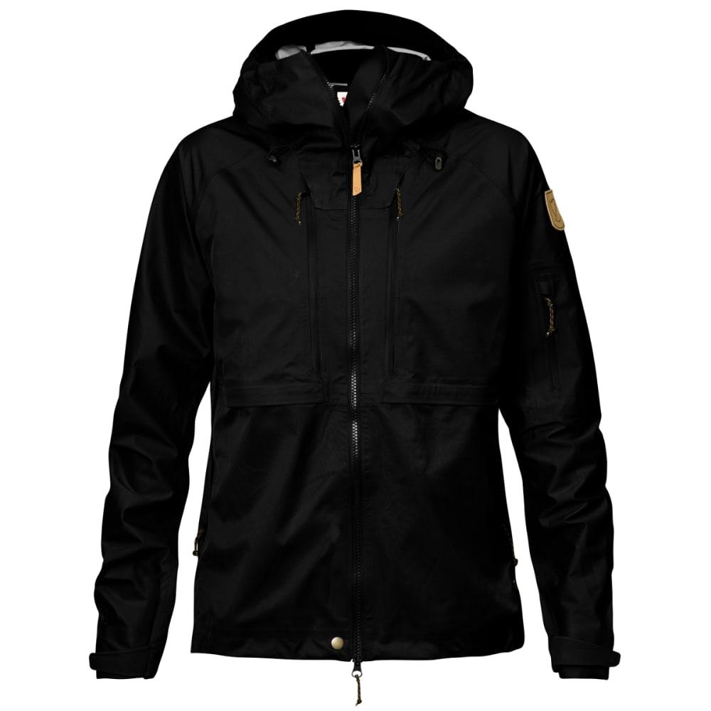 FJALLRAVEN Women's Keb Eco-Shell Jacket - BLACK