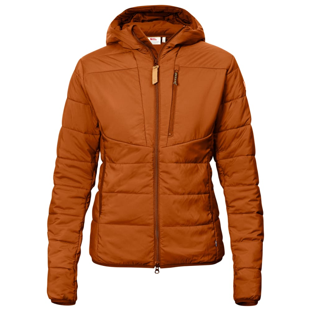 FJALLRAVEN Women's Keb Padded Hoodie - AUTUMN LEAF