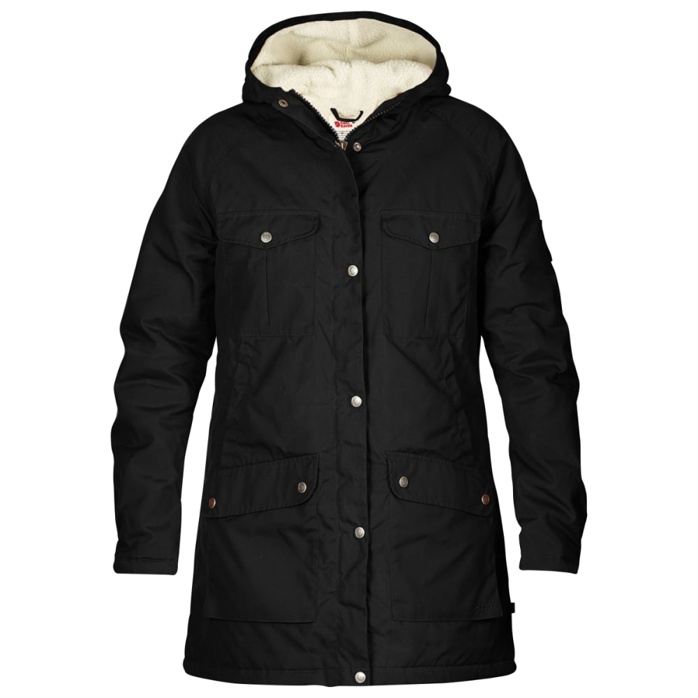 FJALLRAVEN Women's Greenland Winter Parka - BLACK