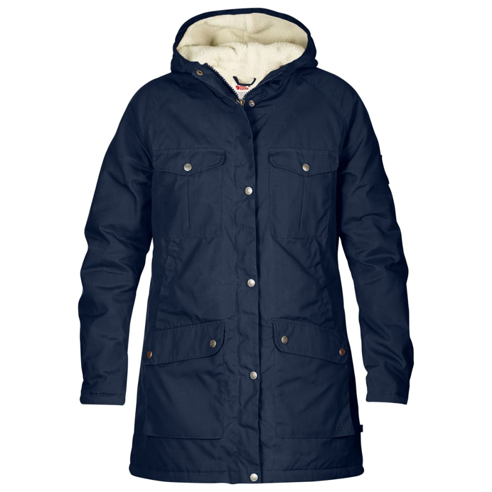 FJALLRAVEN Women's Greenland Winter Parka - DARK NAVY