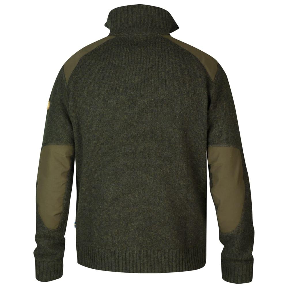FJÄLLRÄVEN Men's Koster Sweater - DARK OLIVE