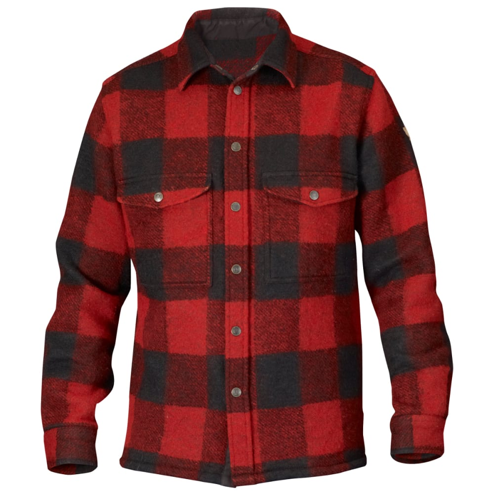 FJALLRAVEN Men's Canada Shirt - RED