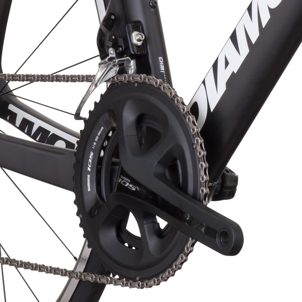 DIAMONDBACK Podium E'Tape Road Bike - RAW CARBON
