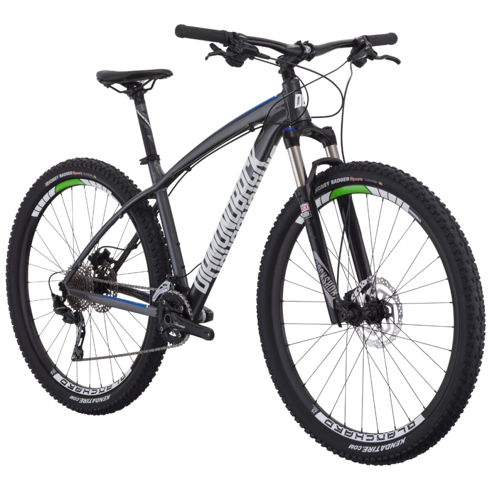 DIAMONDBACK Overdrive Comp Mountain Bike - SILVER