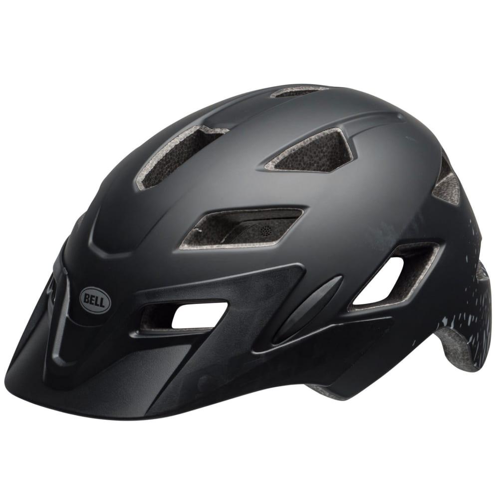 BELL Kids' Sidetrack Universal Cycling Helmet - BLACK/SILVER FRAGMEN