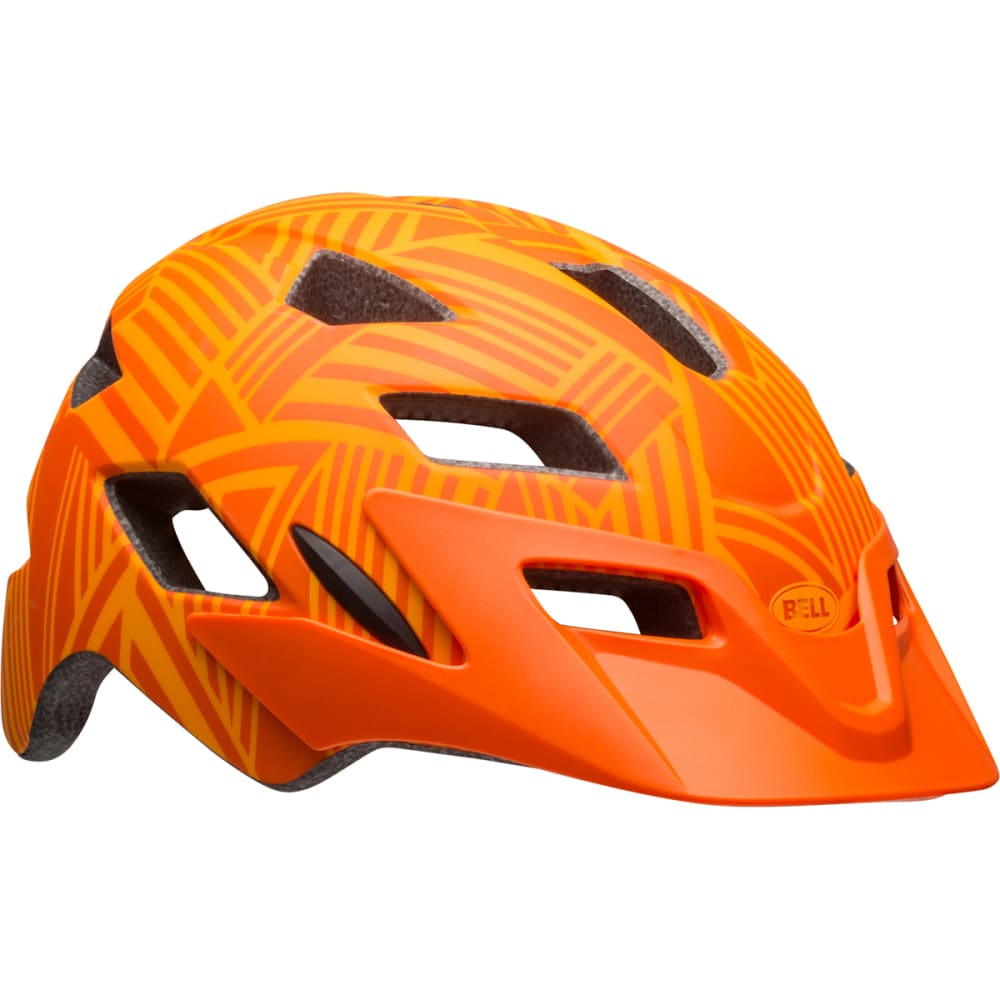 BELL Kids' Sidetrack Helmet - MATTE TANG/ORANGE