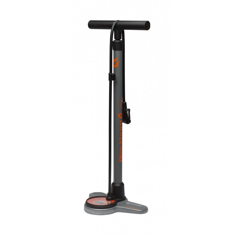 BLACKBURN Piston 3 Bicycle Pump - GREY/ORANGE