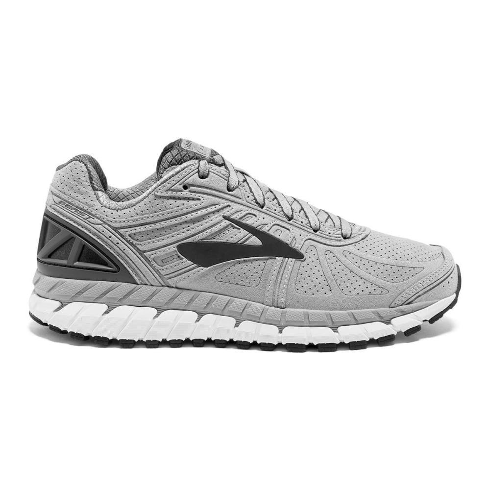 BROOKS Men's Beast 16 Suede Running Shoe - GREY