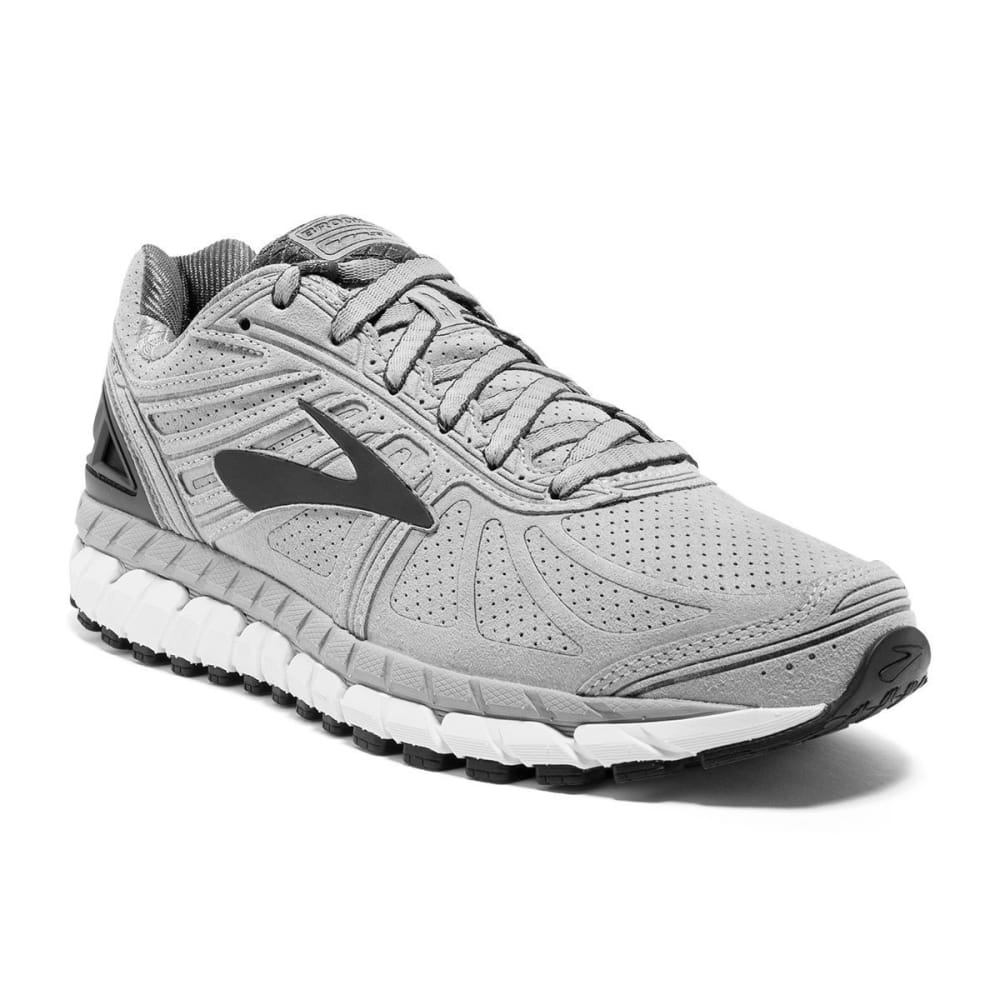 BROOKS Men's Beast 16 Suede Running Shoe - GREY